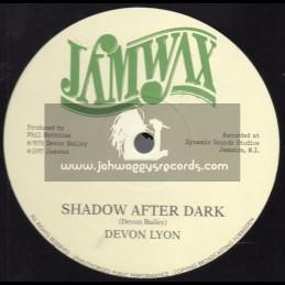 """Jamwax-12""""-Shadow After Dark / Devon Lyon"""