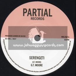 "Partial Records-7""-Serengeti / G.T. Moore"