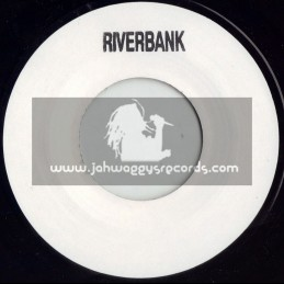 """RIVERBANK RECORDS-7""""-BLANK WHITE LABLE"""