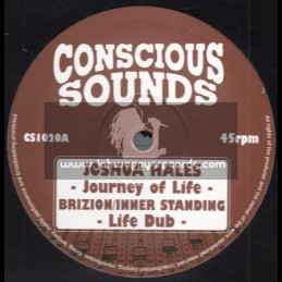 """Conscious Sounds-10""""-Journey Of Life / Joshua Hales - Brizion - Inner Standing + Artman / Artman Meets Dougie"""