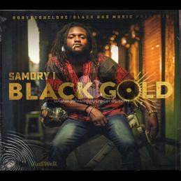 Black Dub-CD-Black Gold / Samory I