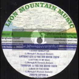 "Lion Mountain Music-10""-Bloody Revolution/Anthony Que And The Inn House Crew + Bado Bada / The Inn House Crew Ft. Jimmy Haynes"