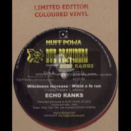 "NUFF POWA,DUB PROVIDERS FEAT ECHO RANKS-12""-WIKIDNESS INCREASE + WIKED A FE RUN / ECHO RANKS"