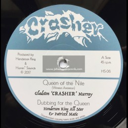 "Crasher-Hornin Sounds-12""-Queen Of The Nile / Gladston Crusher Murray + Amazon / Gladston Crusher Murray"