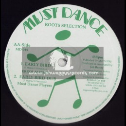 "MUST DANCE ROOTS SELECTION-10""-EARLY BIRD / ERROL MATHIS + ROOTSMAN / ERROL BELLOT"