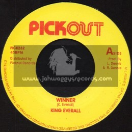 """Pick Out-7""""-Winner / King Everall"""