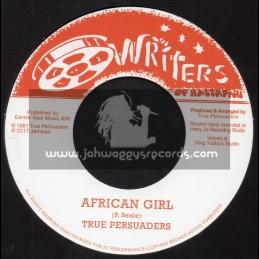 "Writers Of Rastafari-7""-African Girl / True Persuaders"