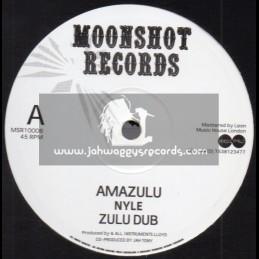 """Moonshot Records-10""""-Amazulu / Nyle + Fari / Nyle"""