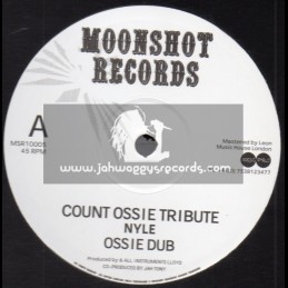 """Moonshot Records-10""""-Count Ossie Tribute / Nyle + Lalibela / Nyle"""