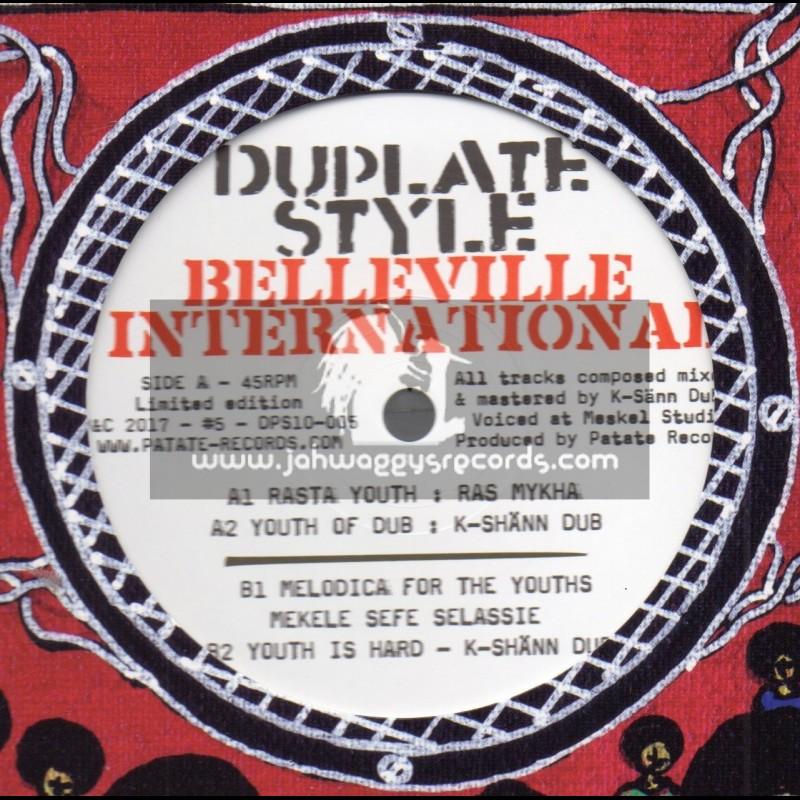 "Belleville International-Dubplate Style-10""-Rasta Youth / Ras Mykha - Limited Edition"