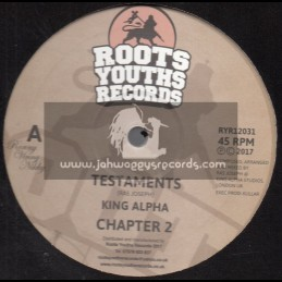 "Roots Youths Records-12""-Testament / King Alpha + Mass Extinction / King Alpha"