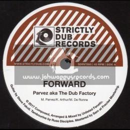 """Strictly Dub Records-7""""-Forward / Parvez + Forward Dub / Unlisted Fanatic"""