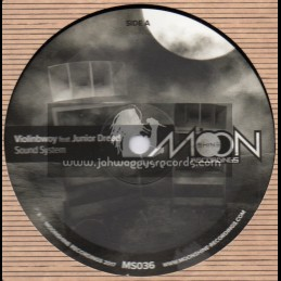 "Moonshine Recordings-10""-Sound System / Violinbwoy Feat. Junior Dread"
