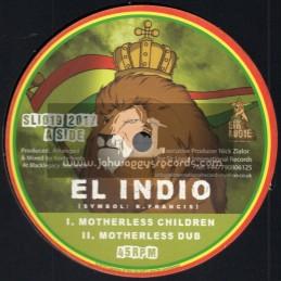 "Sir Logie International-10""-Motherless Children / El Indio + Responsibility / Rootsy Rebel"