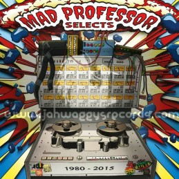 Byrd Out Records-Lp-Mad Professor Selects 1980 - 2015 / Mad Professor