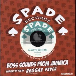"Spade Records-7""-Always With Me / Imperials + Sad Feelings / Al Senior Pone & Ranny Wlliams Hippy Boys"