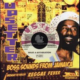 """Upsetter Records-7""""-What A Botheration / Lee Perry + Taste Of Killing / Upsetters"""