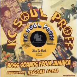 """Kc Soul Proff-7""""-Man No Dead / KC White"""