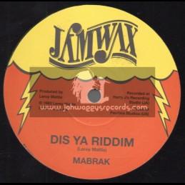 """Jamwax-12""""-Dis Ya Sound / Mabrak"""