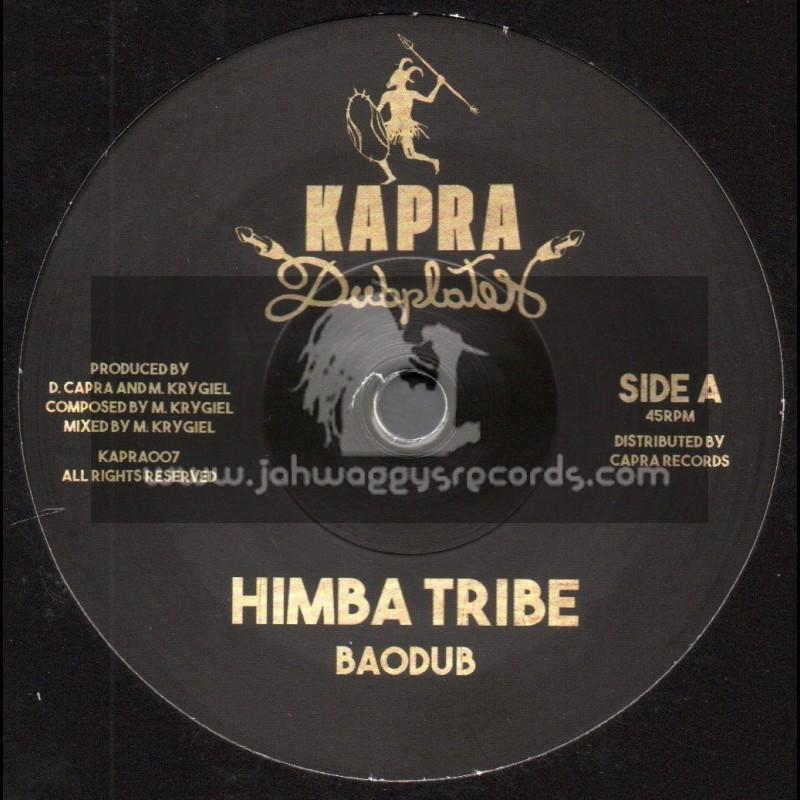 """Kapra Dubplates-7""""-Himba Tribe / Baodub + Himba Dub / Dennis Capra"""