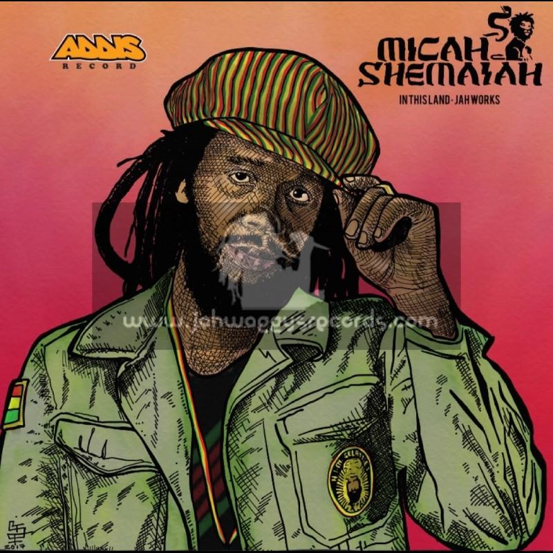 "Addis Records-10""-In This Land / Micah Shemaiah + Jah Works / Micah Shemaiah"