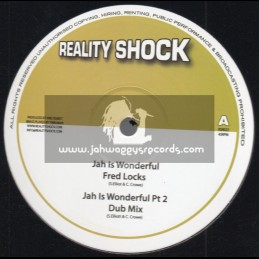 "Reality Shock Records-10""-Jah Is Wonderful / Fred Locks"