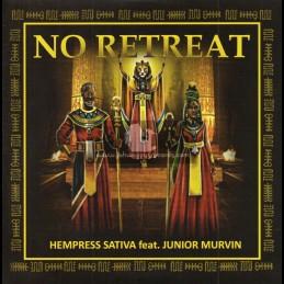 "Conquering Lion Records-7""-No Retreat / Hempress Sativa Feat. Junior Murvin"