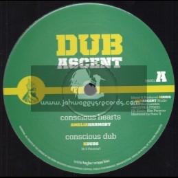 """Dub Ascent-12""""-Conscious Hearts / Amelia Harmony"""