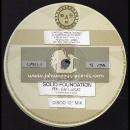 "Ashanti Selah-12""-Solid Foundation / Dan I Locks"
