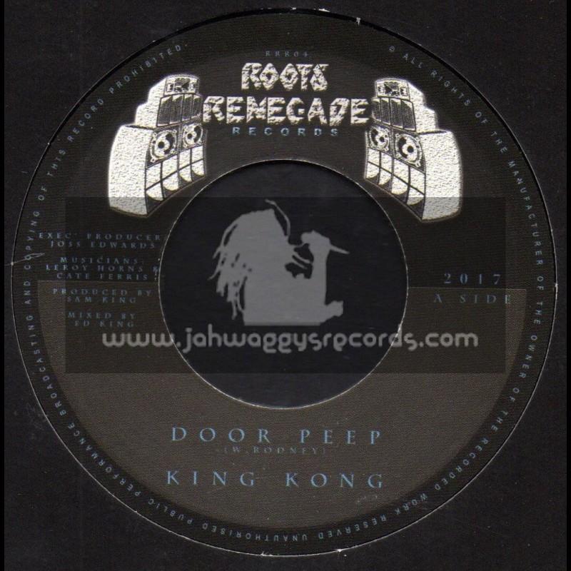 "Roots Renegade Records-7""-Door Peep / King Kong"