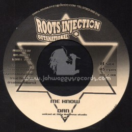 """Roots Injection Outanational-7""""-Me Know / Dan I"""