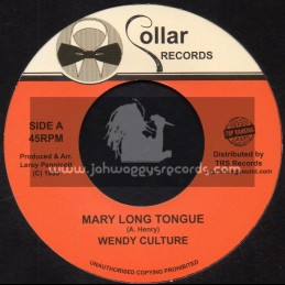 "Collar Records -Top Ranking Sound-7""-Mary Long Tongue / Wendy Culture + Falla Falla / Chuckleberry"