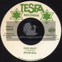 "Tesfa Records-Top Ranking Sound-7""-Gun Shot / Boom Box"